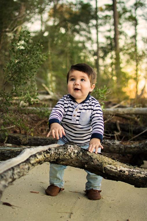 One year milestone | Crestview, Florida Child Photographer